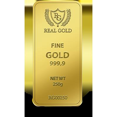 250 Gram Gold bar